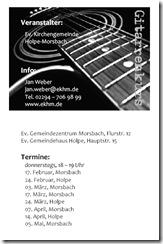 Gitarrenkurs 2011 www